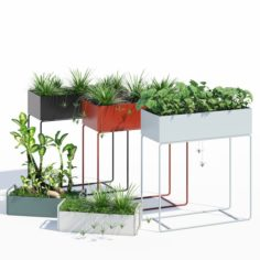 Ferm Living plant box 3D Model