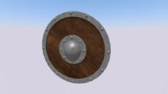Medieval Shield 1 3D Model