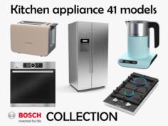 BOSCH Kitchen Appliance Collection – 41 models 3D Model