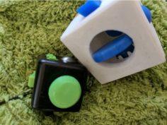 Oversized Fidget Widget Cube 3D Print Model