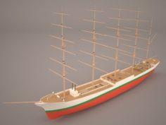 Caphorn Ship 3D Model