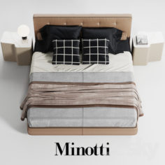 Minotti Bedford                                      3D Model