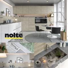 Kitchen NOLTE Artwood (vray GGX, corona PBR)                                      3D Model