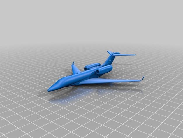 Cessna Citation X 3D Print Model