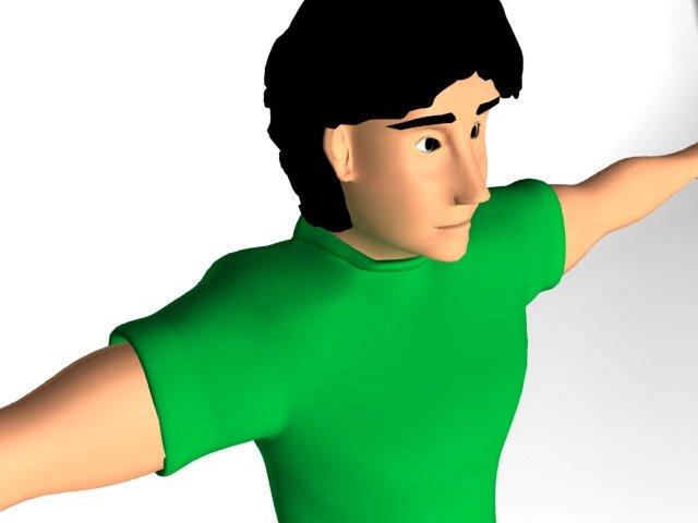 Boy Free 3D Model