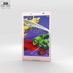Lenovo Tab 2 A8 Neon Pink 3D Model