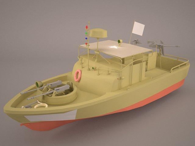 US Coast Guard RB-M 3D Model