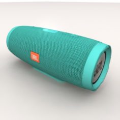 JBL Charge 3 Teal Bluetooth Portable 3D Model
