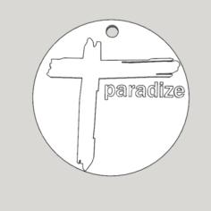 croix medallion from the album paradize d'Indochine 3D Print Model