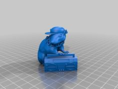 Banksy Rat 3D Print Model