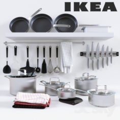 Ikea 365+ Cookware collection                                      3D Model