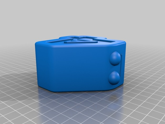 channel 4 character 3D Print Model