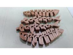 紅龍,雙髻鯊可動關節-by orangeteacher 3D Print Model