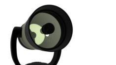 Mirror lens Telescope 3D Model