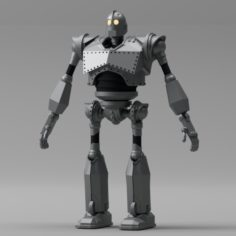 The Iron Giant 3D Model