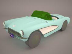 Chevrolet Corvette C1 1954 3D Model