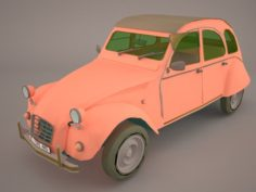 Citroen 2CV Charleston 3D Model