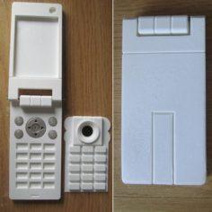 Yuno Gasai phone 3D Print Model
