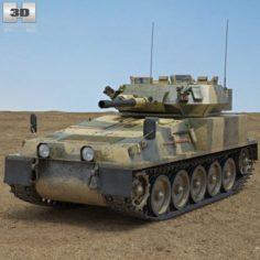 FV101 Scorpion 3D Model