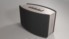 Bluetooth WiFi Speaker 3D Model