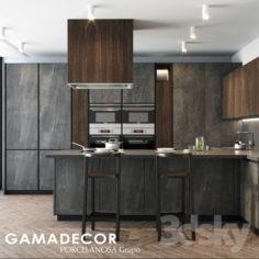 Cocina Gammadecor X-line                                      3D Model