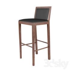 Bar stool                                      Free 3D Model