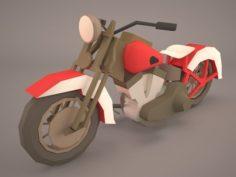 Harley Davidson Softail 3D Model