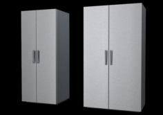 36 and 48 Inch refrigerator residential and commercial architecture 3D Model