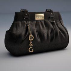 DG Dolce Gabbana Handbag 3D Model