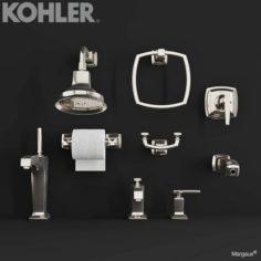 KOHLER MARGAUX Faucets 3D Model