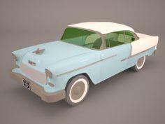Chevrolet Bel Air 1955 Coupe 3D Model