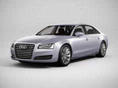 Audi A8 2013 3D Model