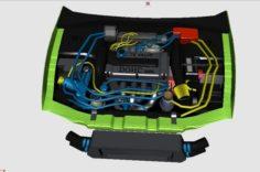 3D Engine for Mitsubishi Eclipse 95 3D Model