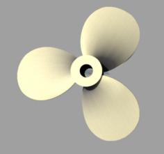 Propeller 15m Free 3D Model