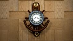 Wall Clock Free 3D Model