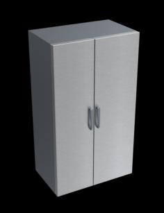 48 inch refrigerator fridge 3D Model