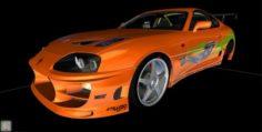 FastFurious 1994 Toyota Supra MK IV 3D Model