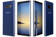 Samsung Galaxy Note 8 Blue 3D Model