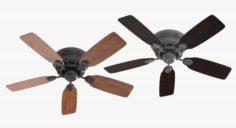Ceiling Fan – Hanter Low Profile 3D Model