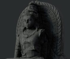 Shiva Statue 3D Model
