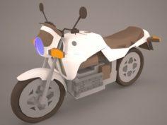 Ducati Scrambler Sixty2 3D Model