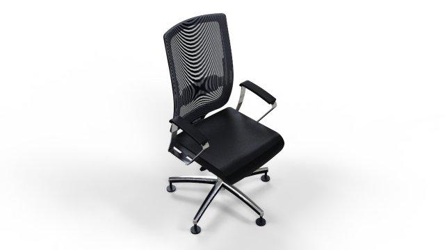 Clark armchair 5 3D Model