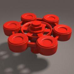 Mechanical Valve 3D Model