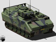TIFV C25 Infantry Fighting Vehicle 3D Model