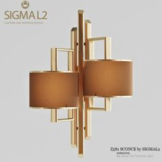 Z581 SCONCE by SIGMA L2 3D Model