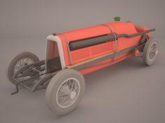 Mercedes Benz W125 GP 1937 3D Model