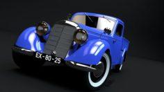 MERCEDES 170V PICKUP 1947 3D Model