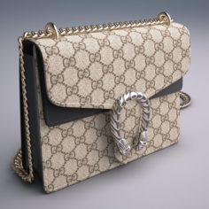Gucci Dionysus GG Supreme mini bag 3D Model