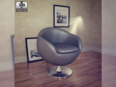Occasional Chair – Bounce Armchair – Zuo Modern 3D Model