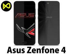 Asus Zenfone 4 Black 3D Model